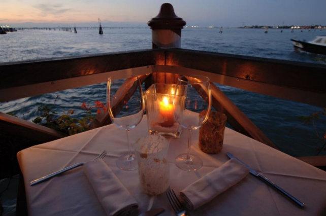 algiubagio venezia mangiare all'aperto terrazza