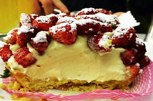 crostatina crema e fragoline pasticceria regoli roma esquilino migliori dolci di roma torte