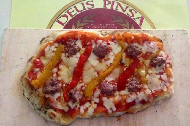giro pizza a roma deus pinsa