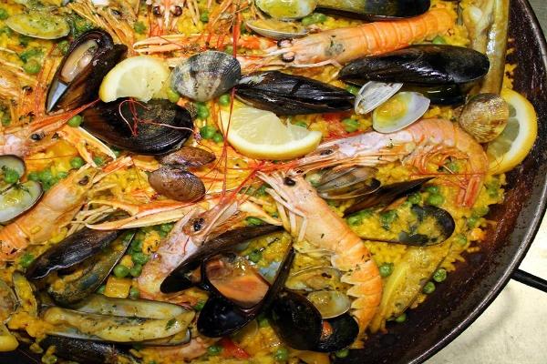 el duende ristorante roma paella valenciana frutti di mare spagnolo riso pesce zafferano migliori cinque paelle di roma
