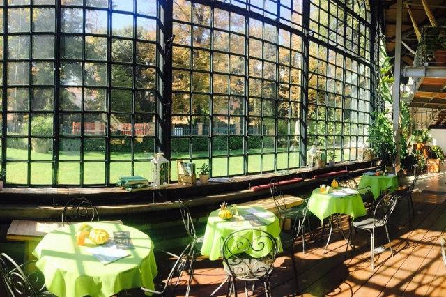 serra dei giardini venezia mangiare all'aperto