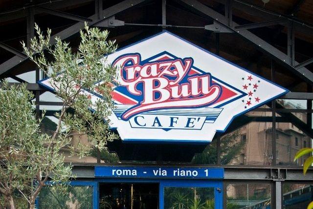 mangiare americano a roma crazy bull cafè