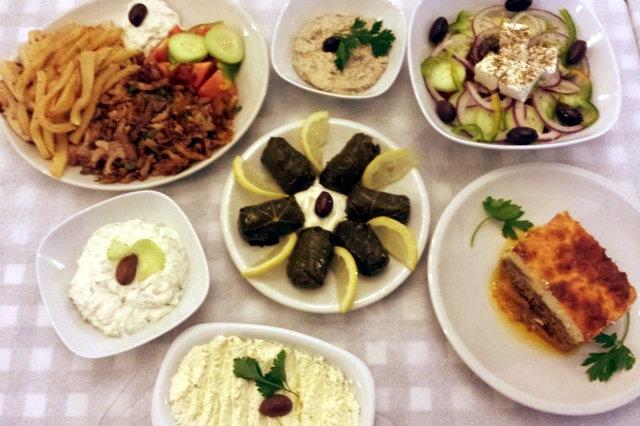 mangiare greco a roma