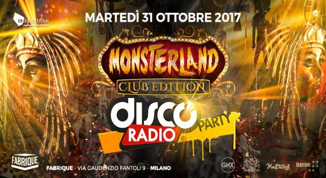 monsterland fabrique milano