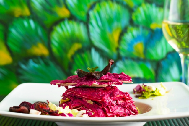humus bistrot migliori ristoranti roma cucina mediorientale humus melanzane barbabietole
