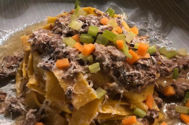 stilelibero ristoart migliori ristoranti cucina tradizionale rivisitata roma prati chef max mariola fettucine ragù bianco