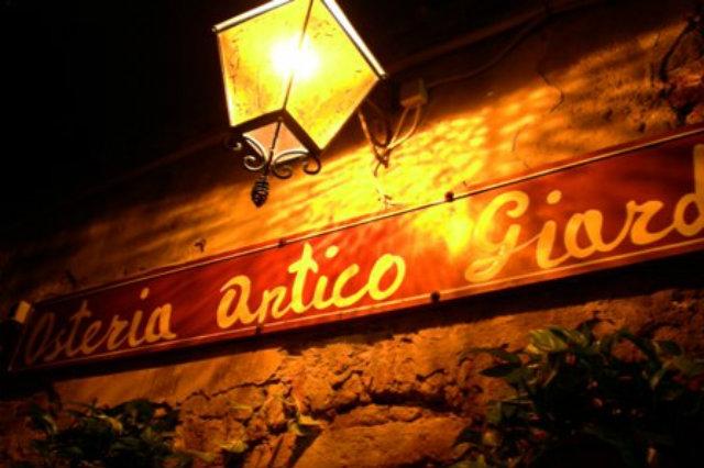 antico giardinetto venezia mangiare all'aperto