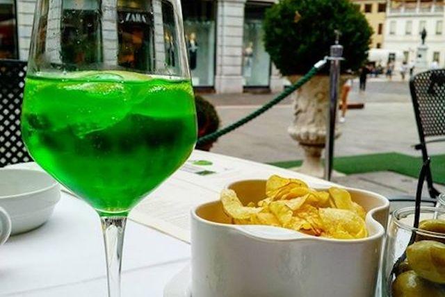 spritz verde padova pedrocchi