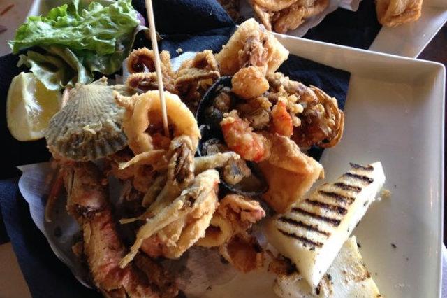 frittura di pesce venezia vecio piave caposile jesolo