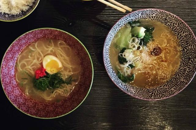 mama-ya ramen ristorante giapponese ostiense miei ramen preferiti a roma miso zuppa noodles soia maiale cucina giapponese tradizionale