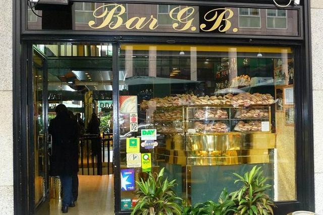 g.b. bar milano panini paninoteca
