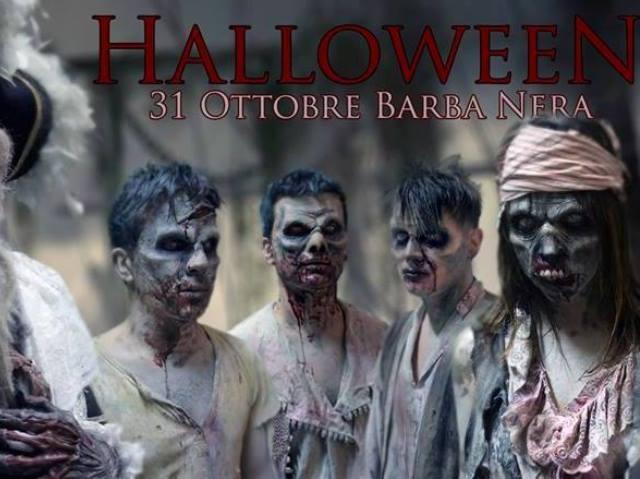 halloween barba nera