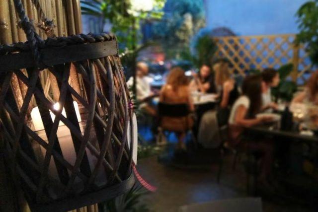 mangiare in terrazza a roma fermento