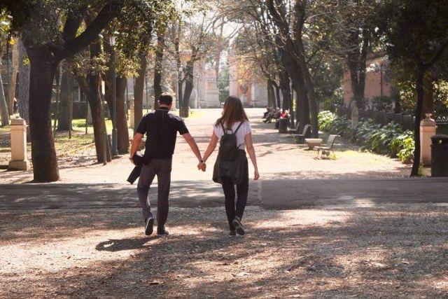 fare picnic a roma villa borghese