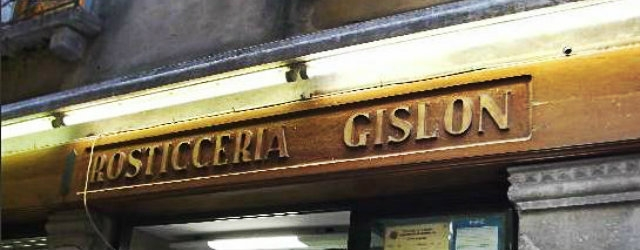 rosticceria gislon venezia