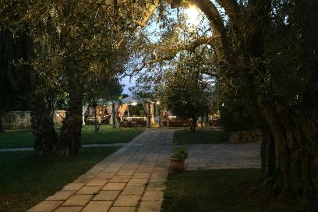 giardini raimondi sannicola salento cena giardino garden