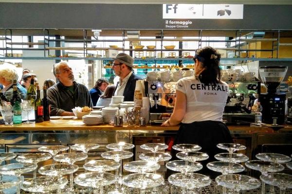mercato centrale roma stazione termini tartufi luciano savini caffè espresso mondi miscela banco