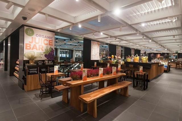 vivi bistrot food hall rinascente tritone roma nuova apertura ristorante macrobiotico bio veg vegano vegetariano insalate smoothies centrifughe frutta verdura