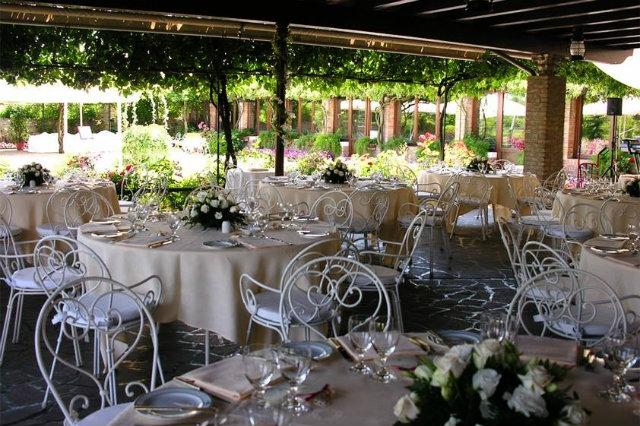 locanda cipriani venezia mangiare all'aperto
