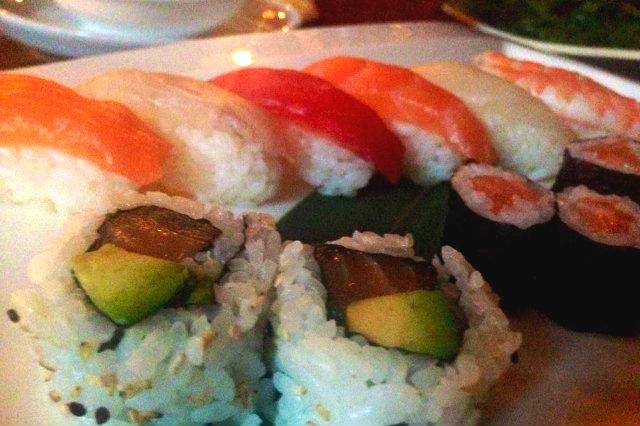 mangiare sushi milano