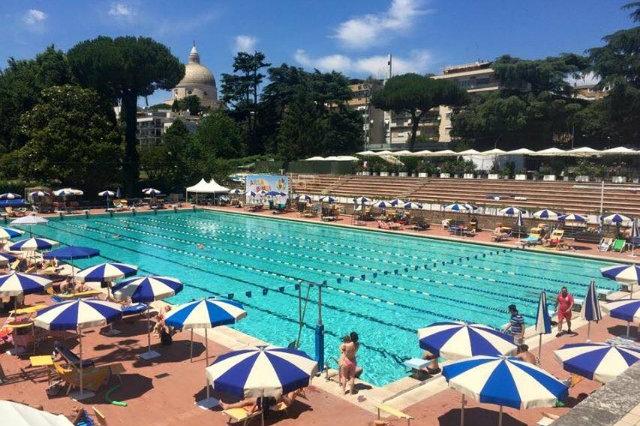 piscine all'aperto roma