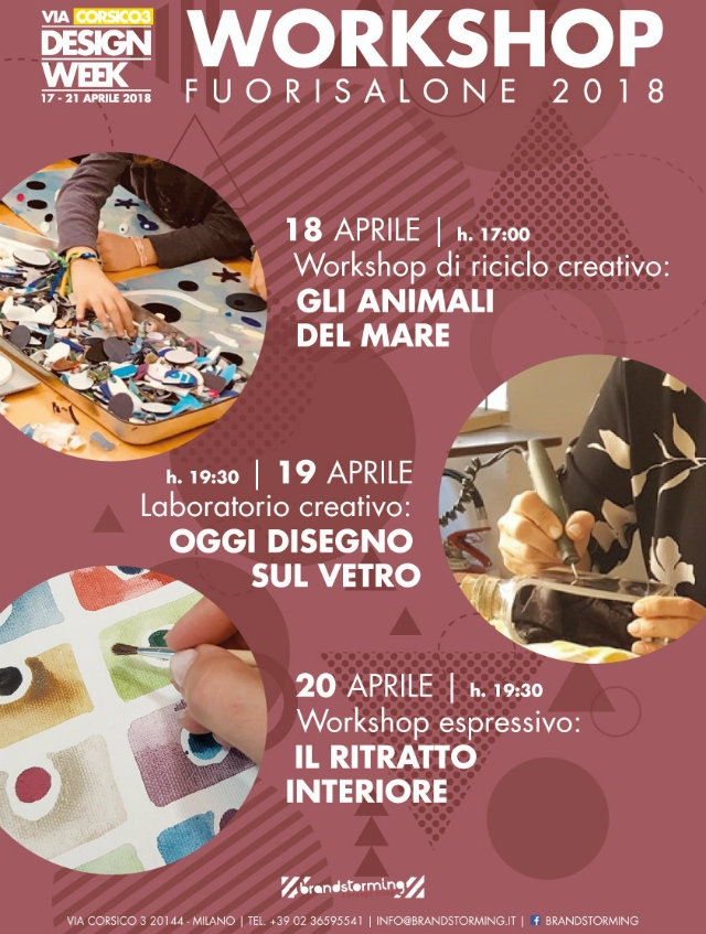 workshop braninstormi milano
