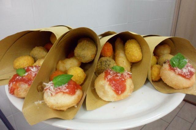cartocci di fritti a roma 96 ore