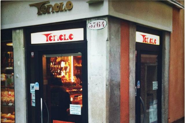 tonolo, venezia, frittelle