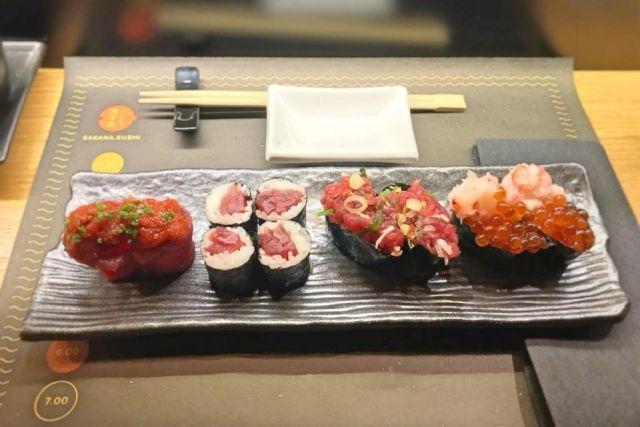 ristoranti take away ostiense sakana sushi