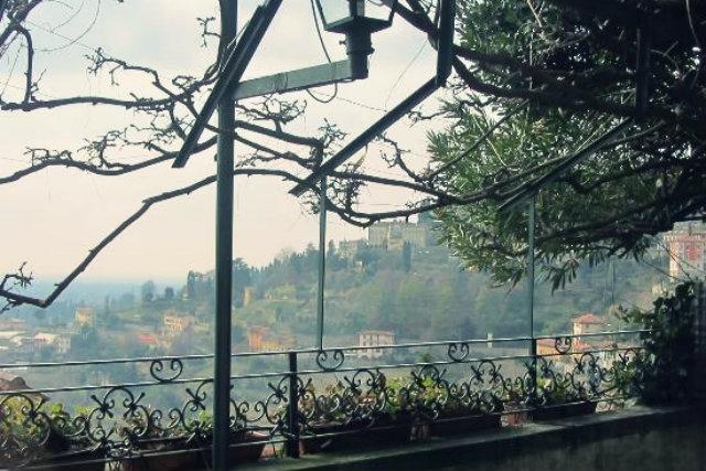 vista panoramica bergamo trattoria le colombine