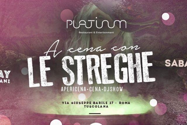 feste di halloween 2015 roma platinum