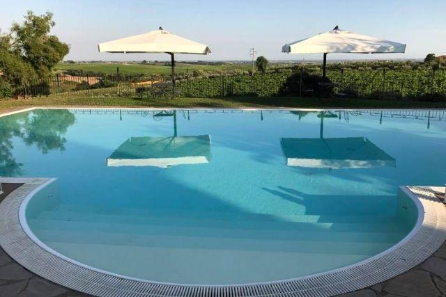 agriturismi con piscina vicino roma i casali della parata