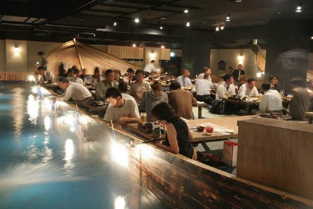 zauo restaurant tokyo mangi quello che peschi, foto da pagina facebook del locale