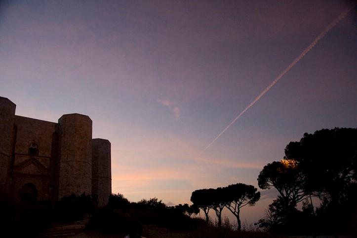 tramonto castel del monte andria foto di https://www.flickr.com/photos/dimenticato/3000500227/