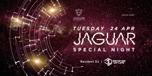 jaguar 24 aprile