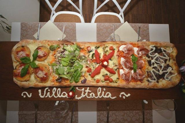 pizza a metro villa italia padova