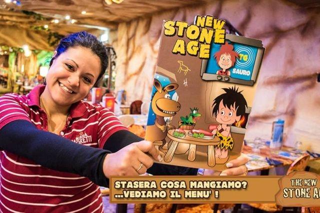 ristorante per bambini roma new stone age