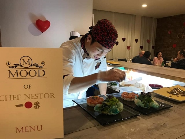 mood of chef nestor pescara