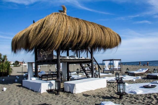 aperitivo spiaggia roma