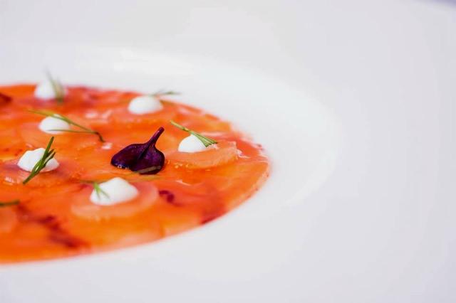 perpetual ristorazione differente migliori ristoranti cucina creativa roma crudo di gamberi carabineros esquilino