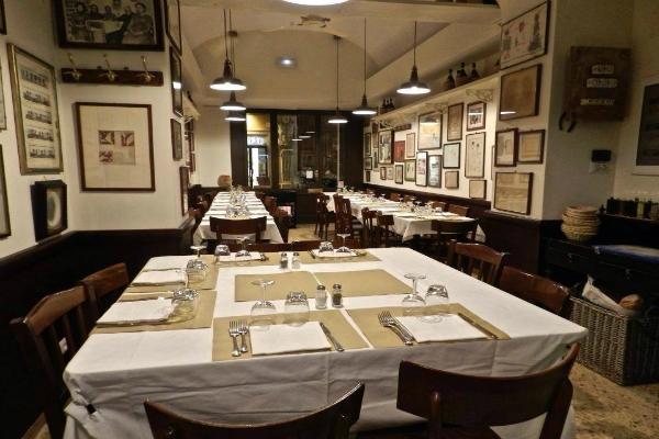 La vera roma a tavola cinque ristoranti storici del - Osteria degli specchi ...