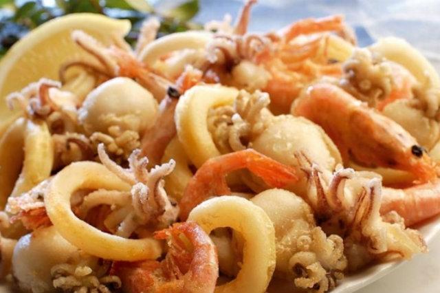 taverne di cucina napoletana, malafemmena, pesce fritto