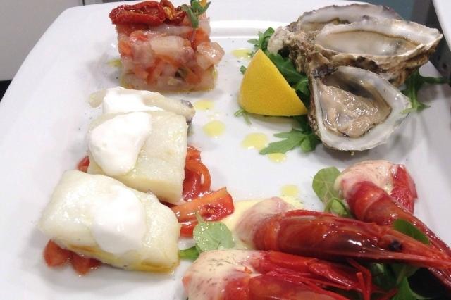 ristorante il bacocco trastevere pesce crudo roma