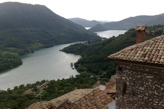 paganico lago del turano sabina 5 luoghi visitare borgo weekend turismo roma