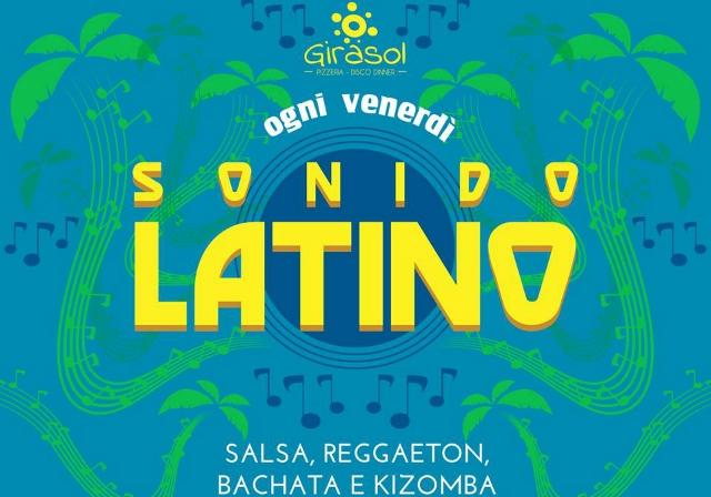 sonido latino locandina