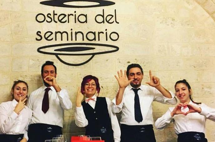 ristoranti esclusivi top bisceglie barletta bat foto da facebook https://www.facebook.com/osteriadelseminario.bisceglie/photos/a.548955168573933.1073741827.548955121907271/933021000167346/?type=3&theater