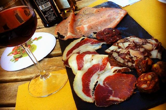 il sorpasso roma prati norcinerie miniguida migliori norcinerie roma salumi affettati selezione vino