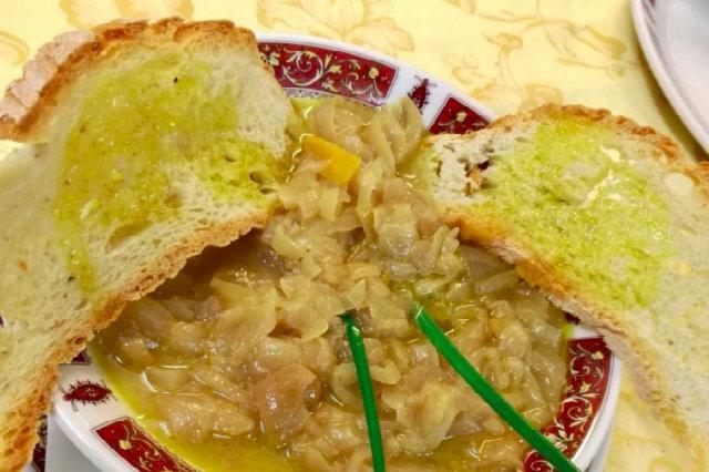 carabaccia zuppa cipolle