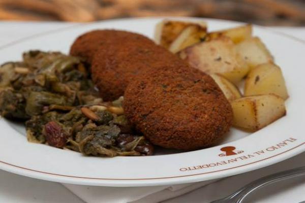 flavio al velavevodetto polpette di bollito cucina romana testaccio classifica migliori cinque trattorie preferite di testaccio primo posto