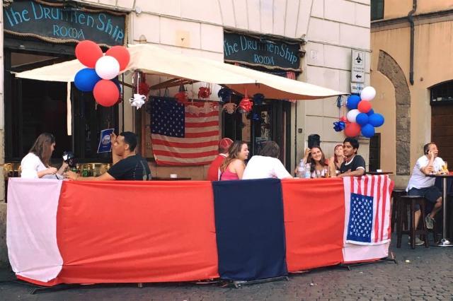 dove vedere altri sport in diretta roma locali pub ristoranti drunken ship campo de fiori sport americani
